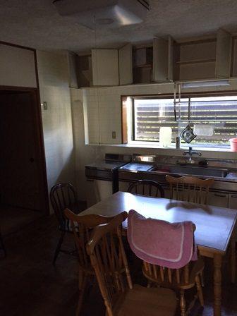 キッチンリフォーム タカラスタンダード 対面キッチン