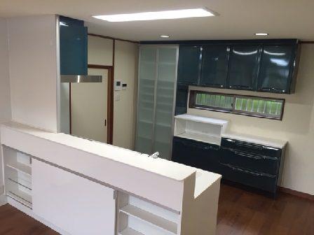 キッチンリフォーム 神戸市 タカラスタンダード 対面