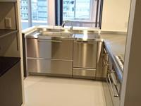 システムキッチン ステンレス キッチン組立施工⑬